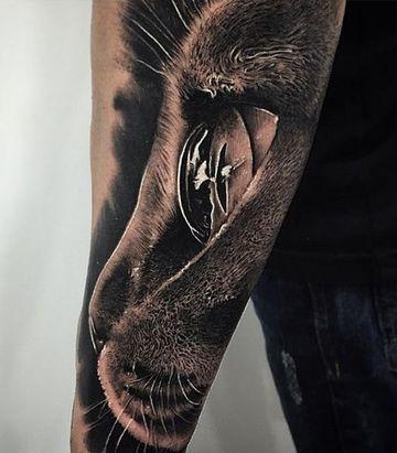 Intimidantes Y Coloridos Tatuajes De Ojos De Animales Tatuajes En