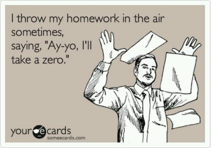 Why does it take me longer to do my homework ?