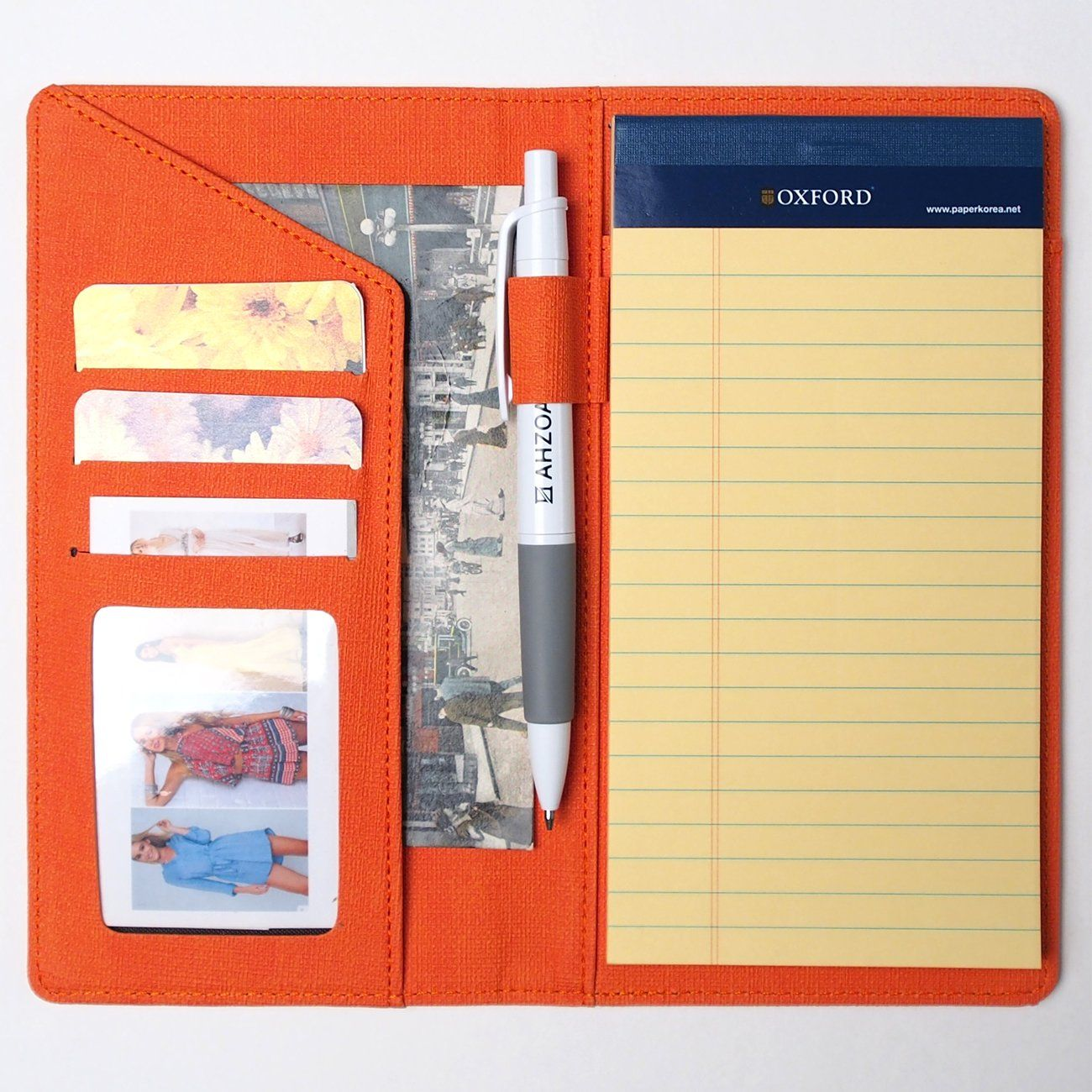 amazon  ahzoa colorful 4 pockets slim size memo