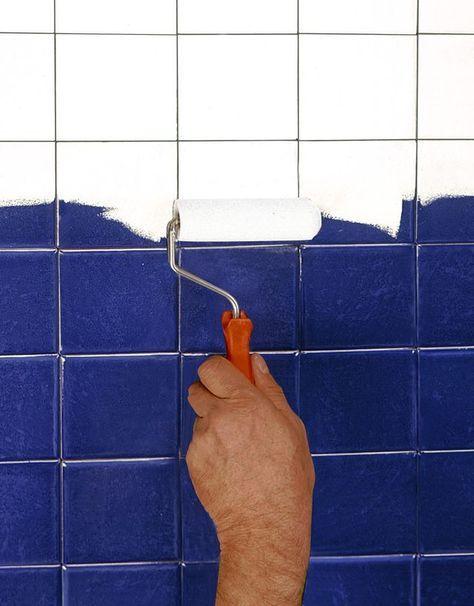 repeindre carrelage salle de bain les 3 erreurs viter avec la peinture - Sous Couche Carrelage Salle De Bain