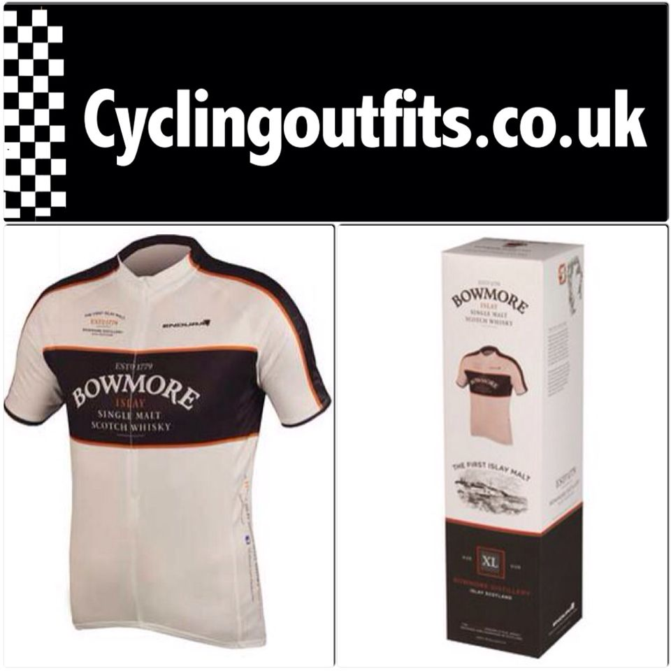 Endura Bowmore whisky cycling jersey. A beautiful classic cycling jersey  paying tribute 6f910d44b