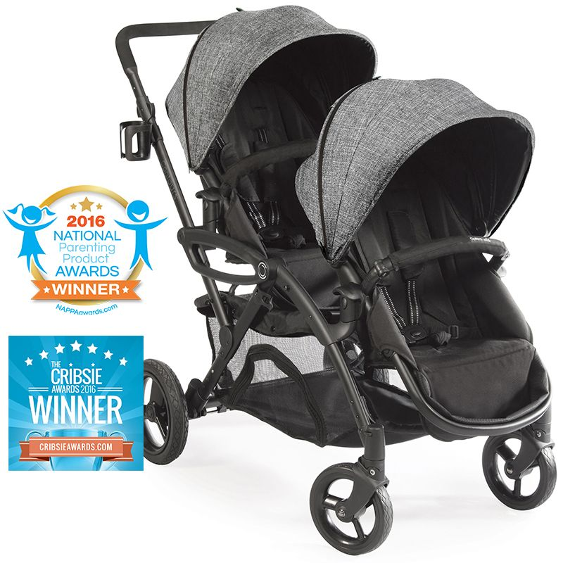 Options Elite Double Stroller Double baby strollers