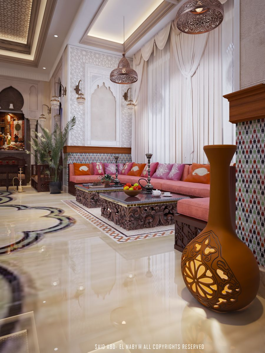 ESSEE E UI  Moroccan Living RoomsMoroccan InteriorsMoroccan ...