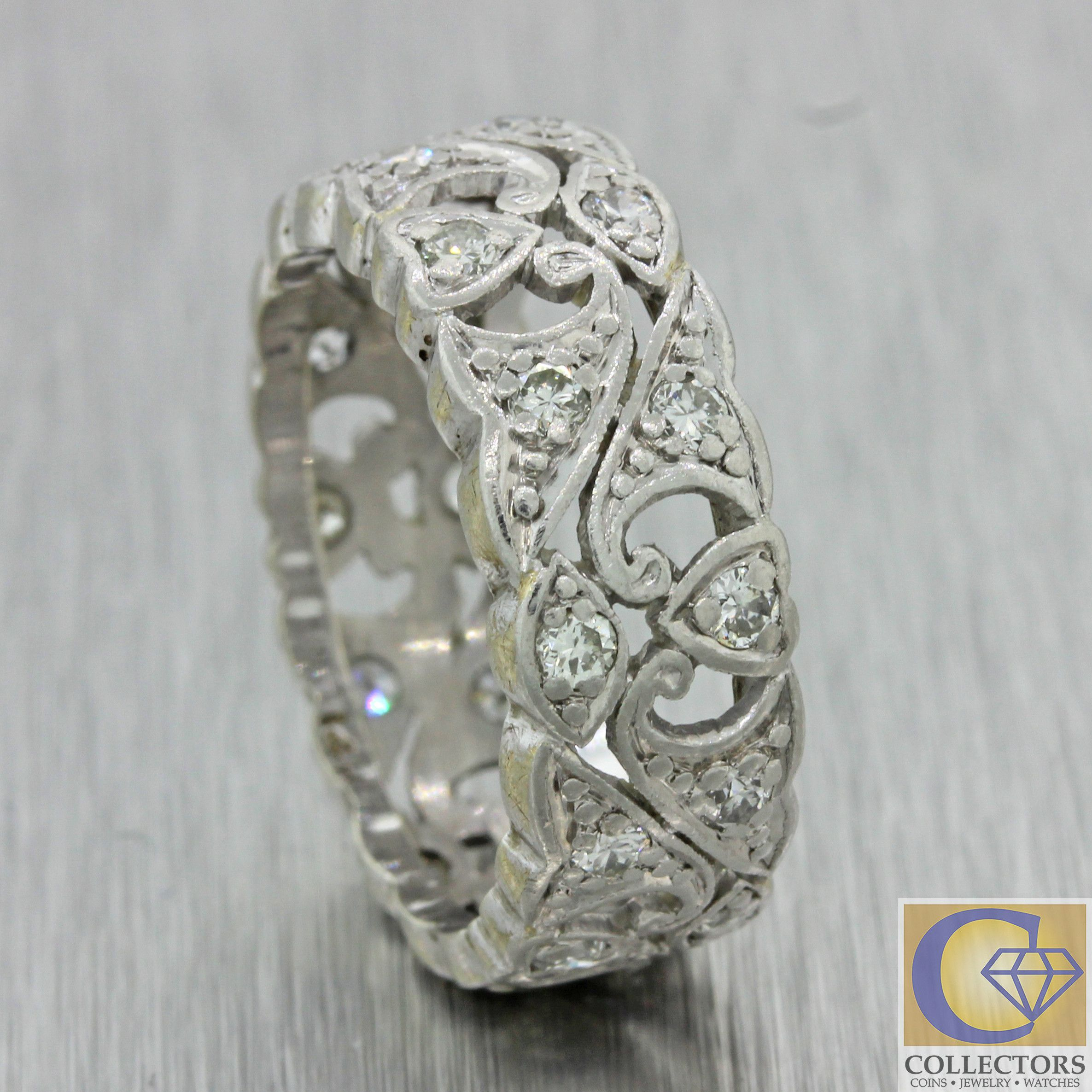 and bloom oval tone rae two product ring bands filigree scalloped with scrolls dianna engagement jewelry band magnolia diamond