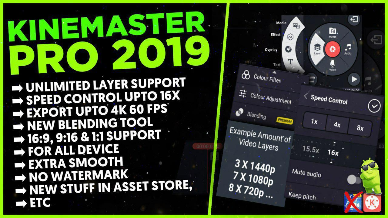 Kinemaster MOD Powerful Tool For Android Video Editing