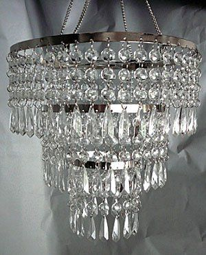 Amazon 3 tier beaded hanging chandelier with clear acrylic amazon 3 tier beaded hanging chandelier with clear acrylic drops boc select aloadofball Gallery