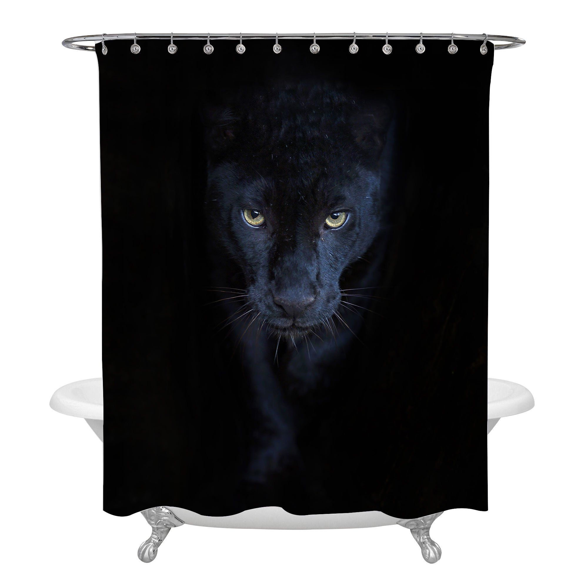 Panther Image By Tina Jarman In 2020 Panther Masculine Bathroom