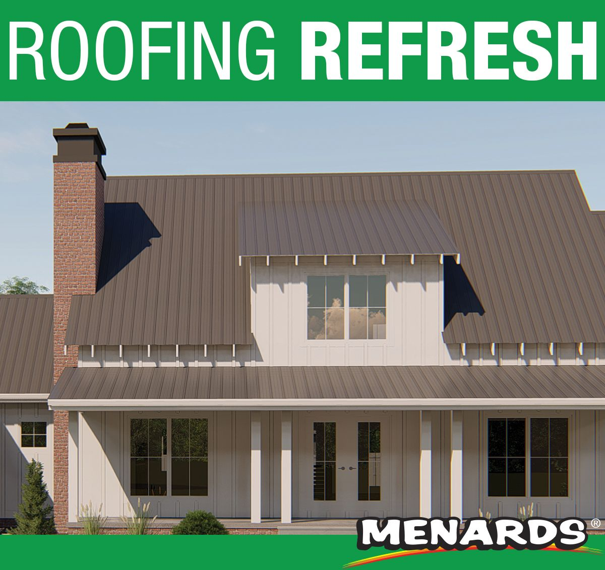 Update Your Roof With Pro Rib Steel Roofing Pro Rib Is Increasing Its Usage In The Residential Roofing And Light C Residential Roofing Roofing Steel Roofing