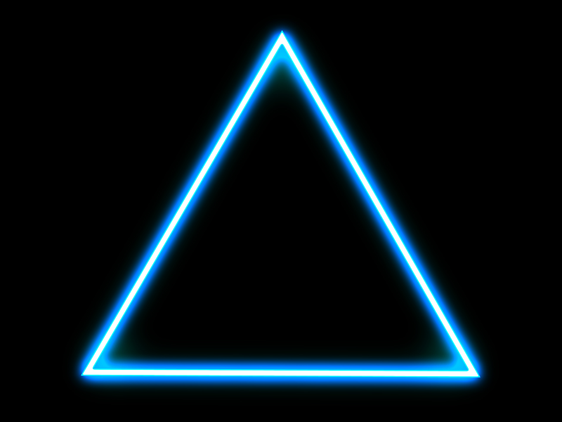 Glowing Triangle 1 Glowing Background Cool Photo Effects Free 80s Fonts
