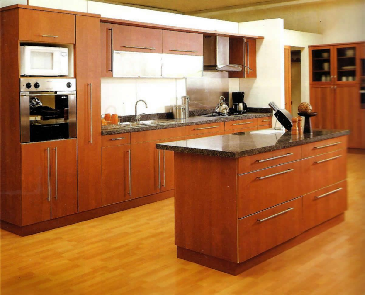 Cocinas Integrales Modernas Y Funcionales Buscar Con Google  ~ Muebles De Cocina De Madera Modernos