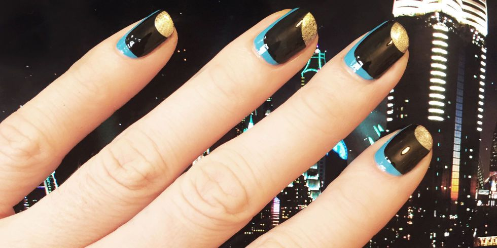Nail Art How-To: Dubai Meets Stella McCartney Spring 2016 | Spring ...