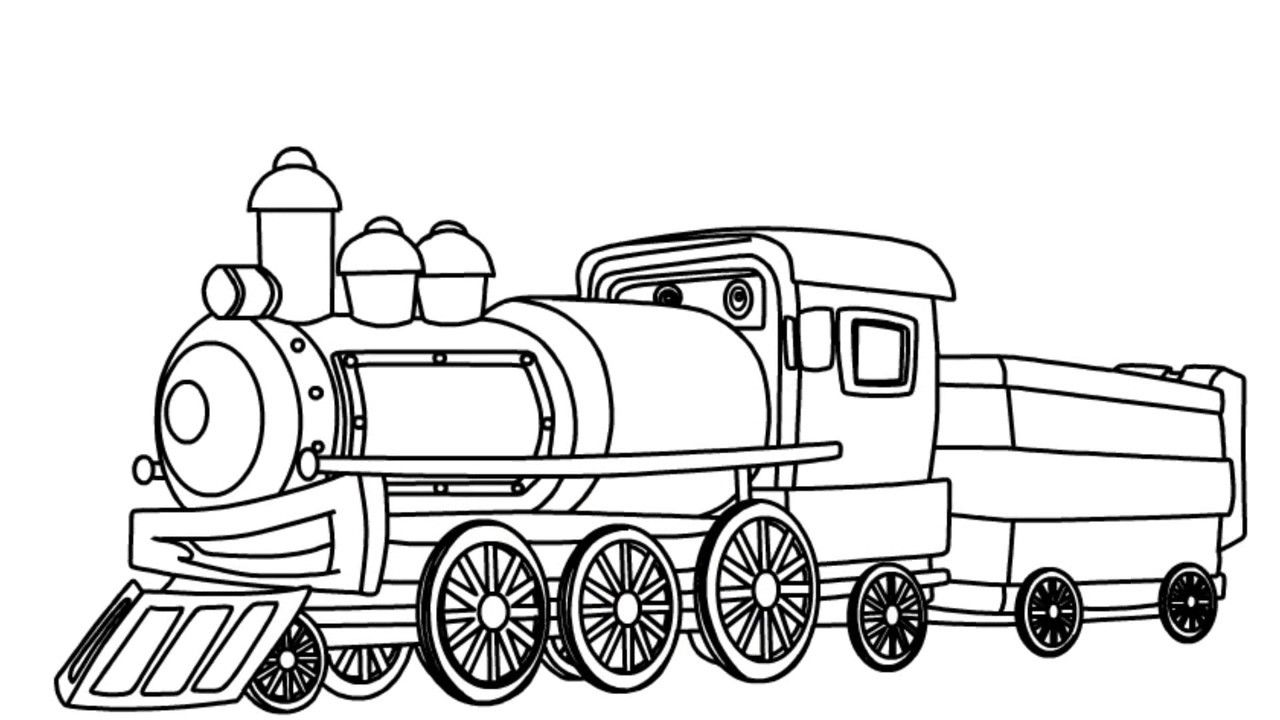 Pin By Tereza Behounkova On Black And White Clipart Train Drawing Free Clip Art Black And White Drawing