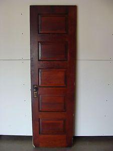 Vintage antique 5 panel interior door w brass hardware 24 x 80 vintage antique 5 panel interior door w brass hardware 24 x 80 planetlyrics Image collections