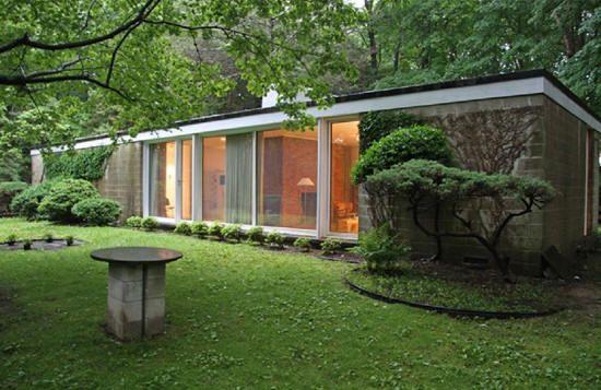 philip johnson Booth (Damora) House, Bedford Village, New York ...