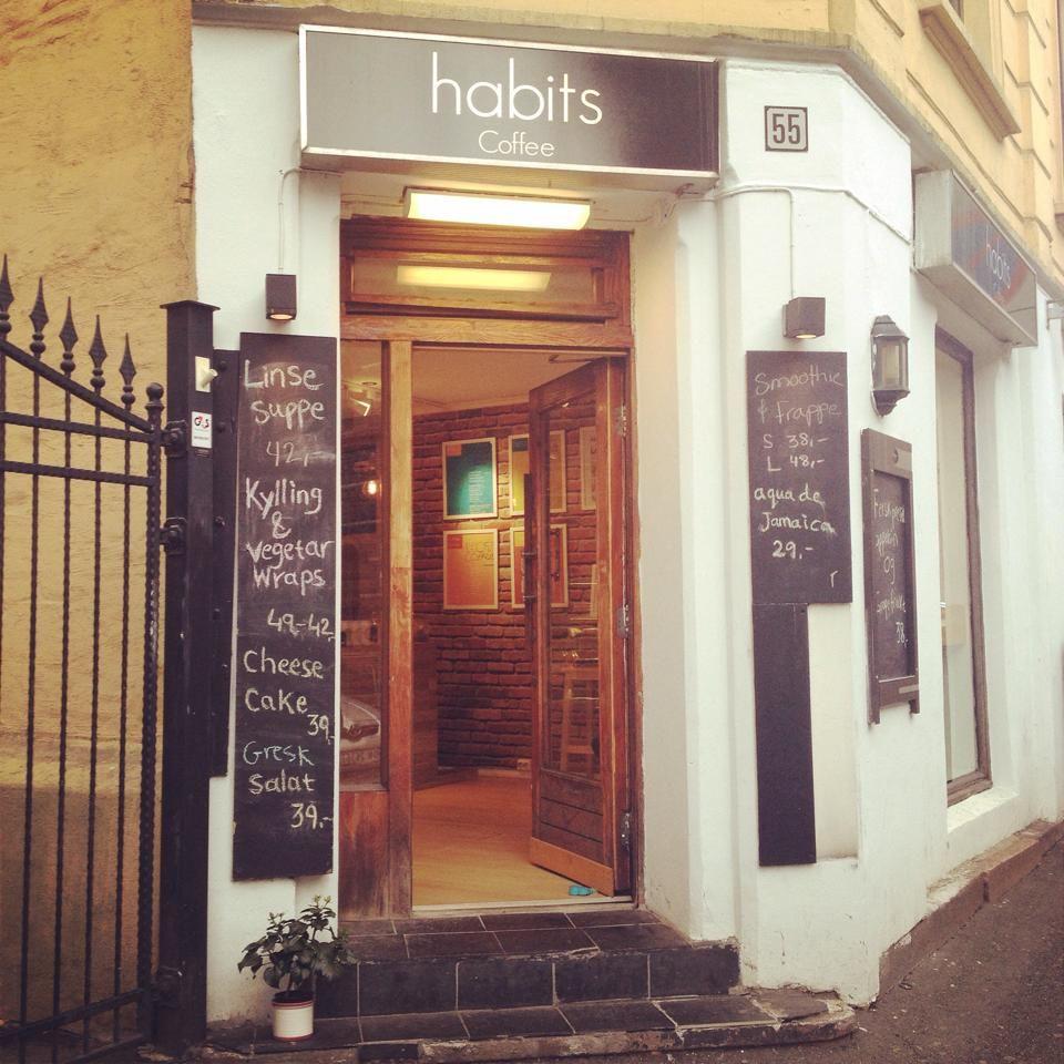 habits coffee shop, Oslo, Norway
