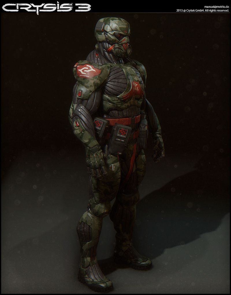 Crysis 3 Character Art Image Heavy Character Art Futuristic