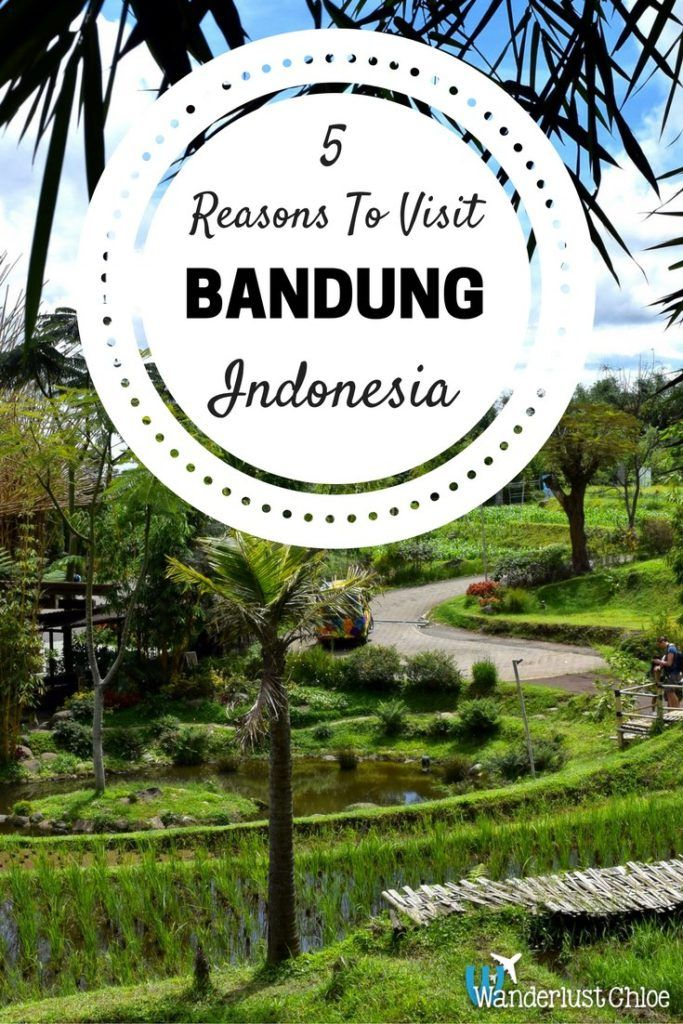 5 Reasons To Visit Bandung, Indonesia. Bandung in Indonesia probably wasn't on your holiday itinerary… but with 4x4 off-roading, a chance to get to know the locals, tasty food and incredible landscapes – perhaps it should be!