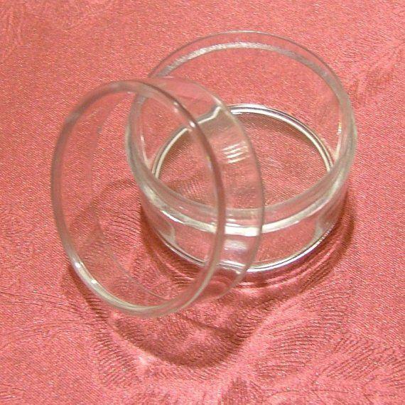 Tiny Clear Plastic Box - 12pcs Round Boxes