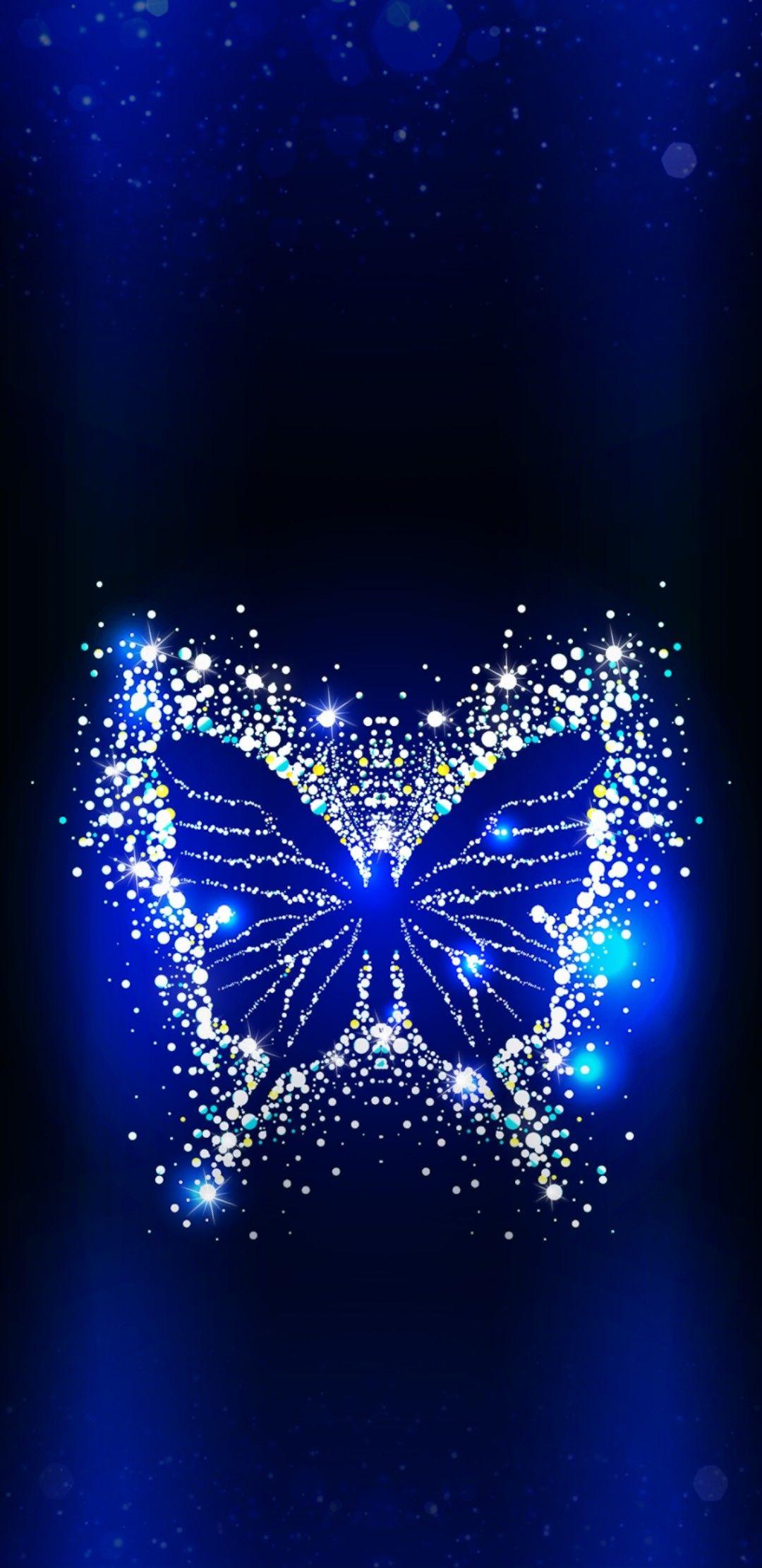Wallpaperby Artist Unknown In 2019 Blue Butterfly