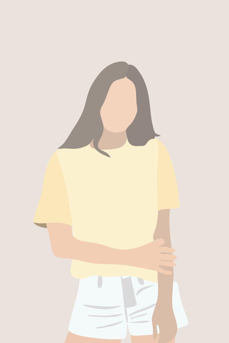 Vector illustration fashion woman