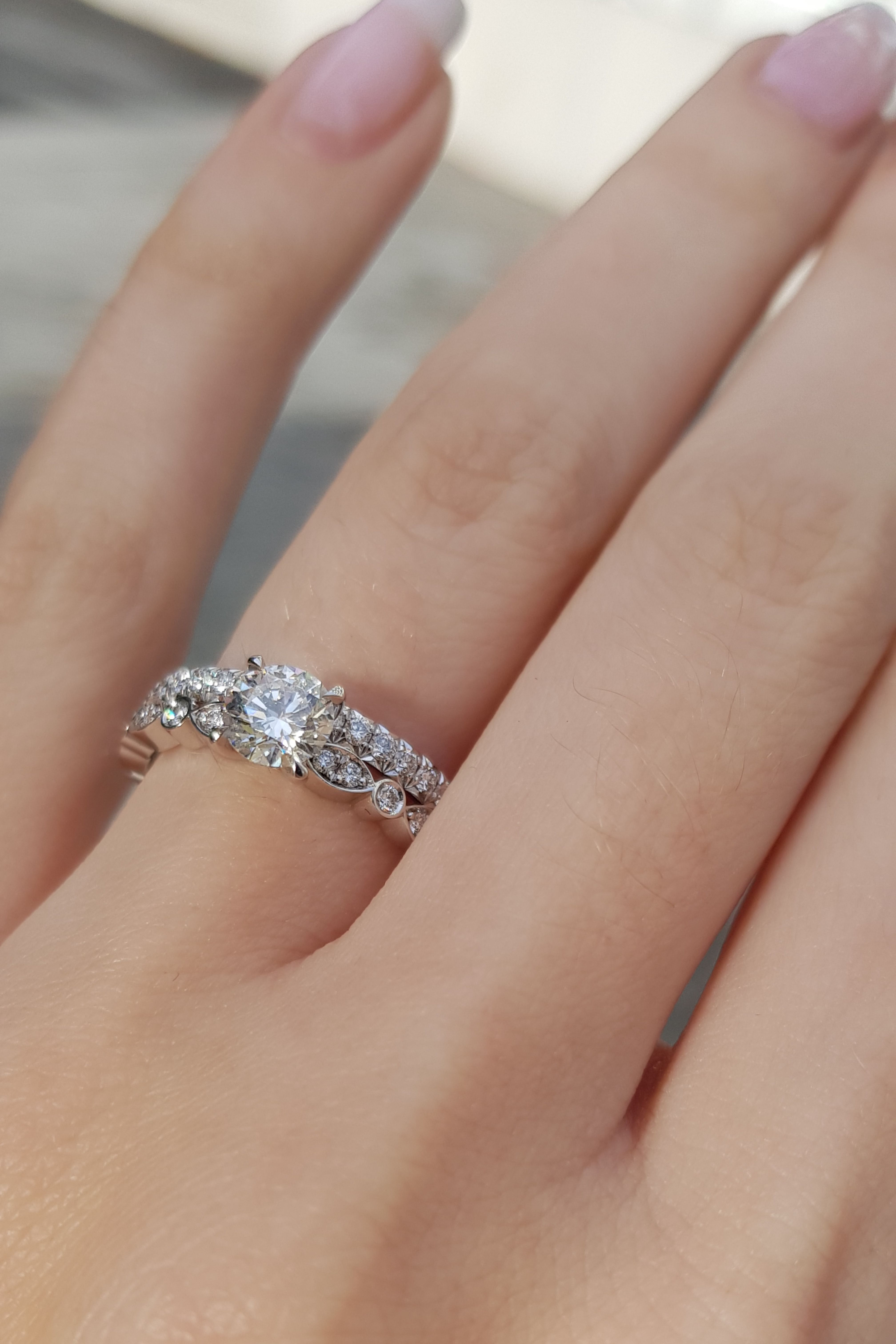 Looking for unique wedding rings inspiration here we