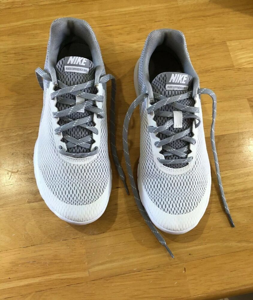 wholesale price attractive price detailed images Nike Women Snikers Size 8.5 White & Gray #fashion #clothing #shoes ...