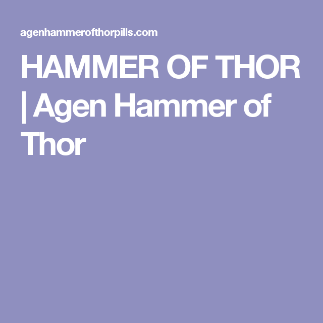 hammer of thor agen hammer of thor barang untuk dibeli