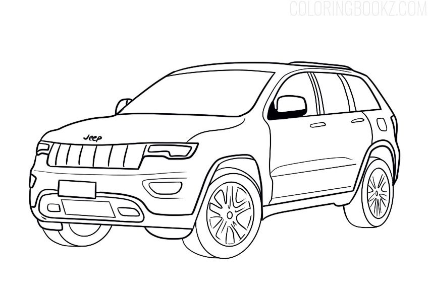 Jeep Coloring Page Coloring Books Jeep Jeepcoloring Jeepcoloringpage Jeepcoloringpages Jeepcoloringbook Jeepcolori Jeep Drawing Jeep Art Coloring Pages