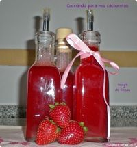 Vinagre balsamico de fresas
