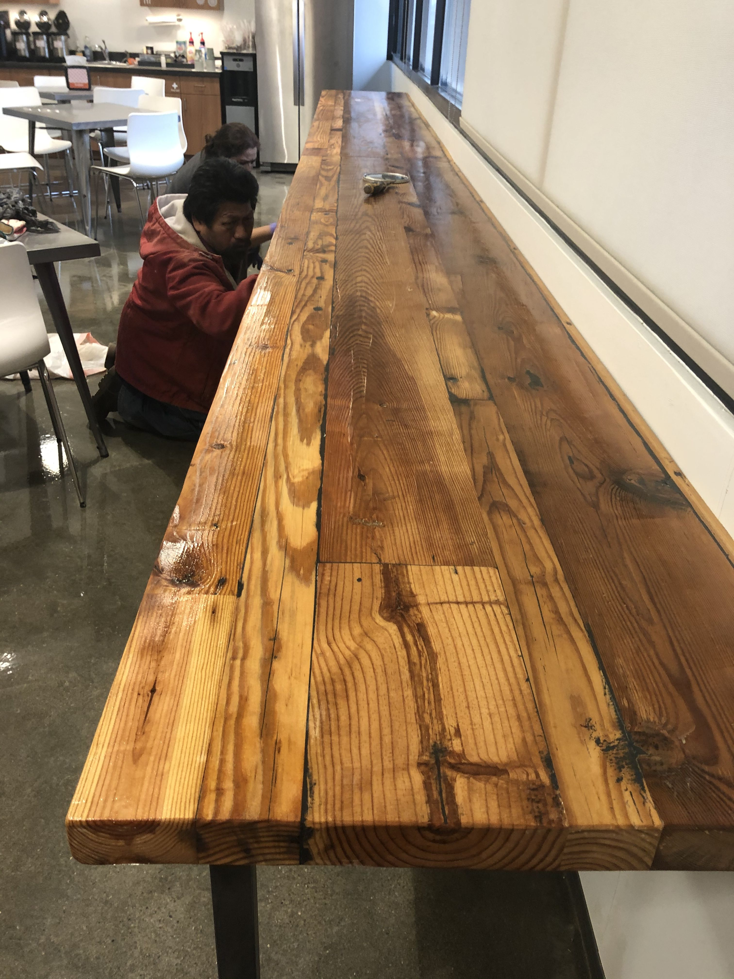 Serving Table In 2020 Dining Table How To Antique Wood Rustic