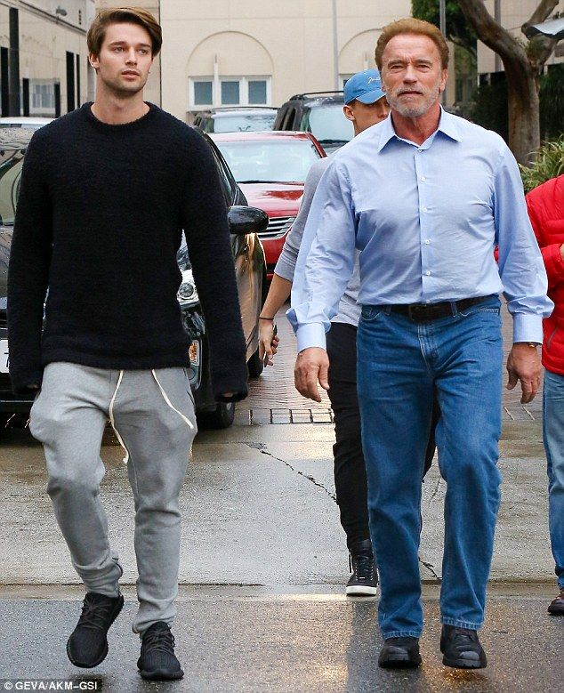 Шварценегр с сыном