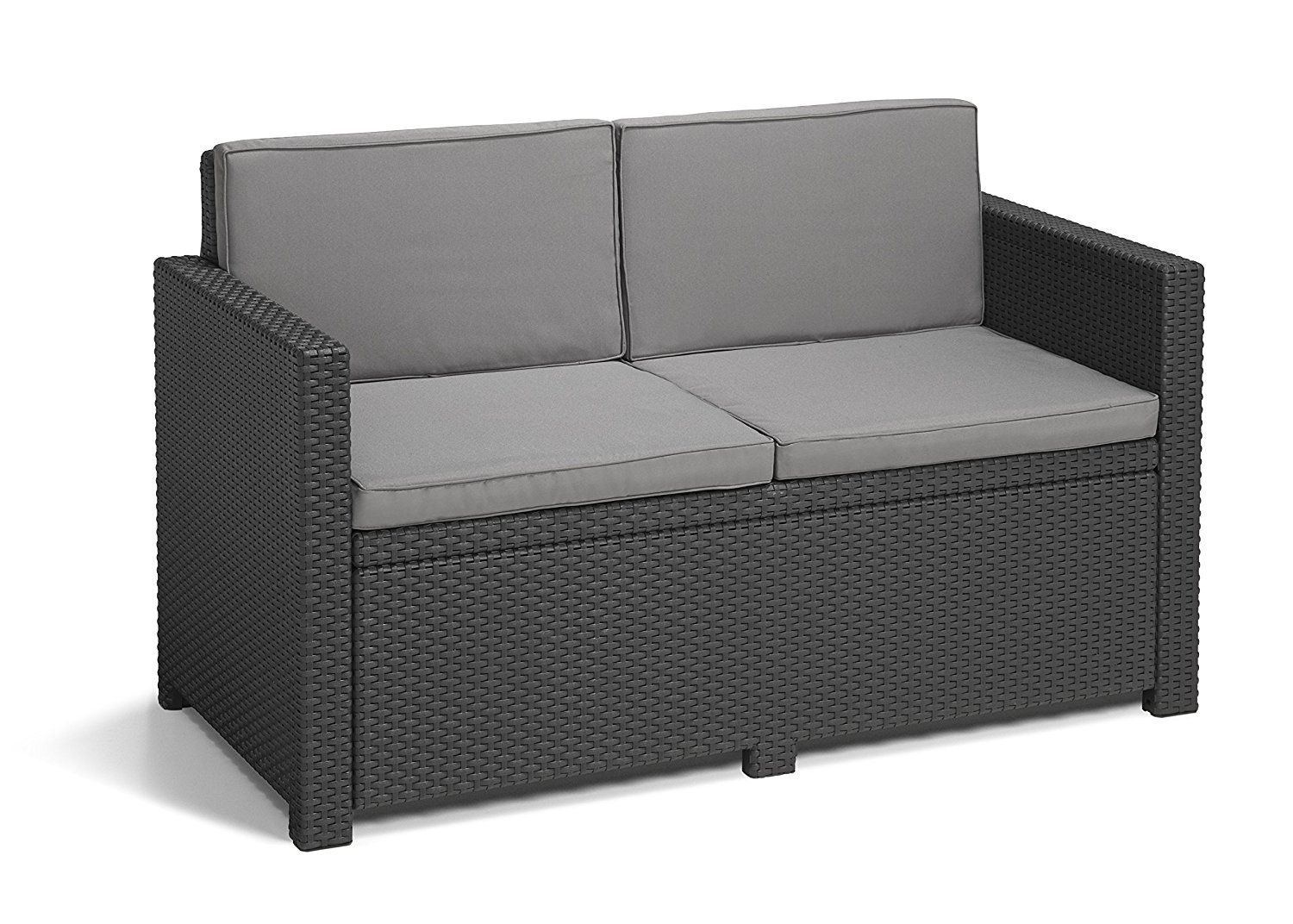 Allibert by Keter Monaco Outdoor 9 Seater Garden Sofa with Cool