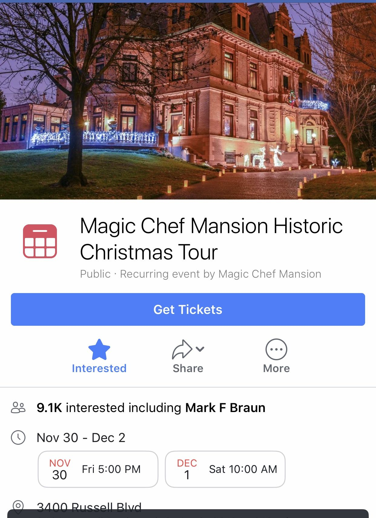 Magic Chef Mansion Christmas Tour 2020 Pin by Jeanne Guidry on Christmas in 2020 | Christmas tours