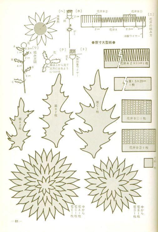 чертополох лист