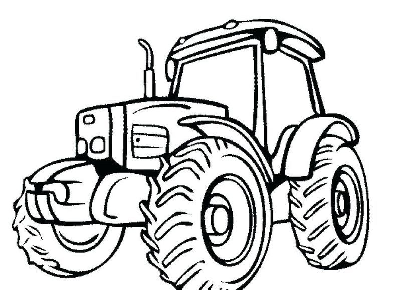 graphic regarding Printable Tractor Coloring Pages referred to as Printable Tractor Coloring Webpages For Youngsters Coloring Webpages