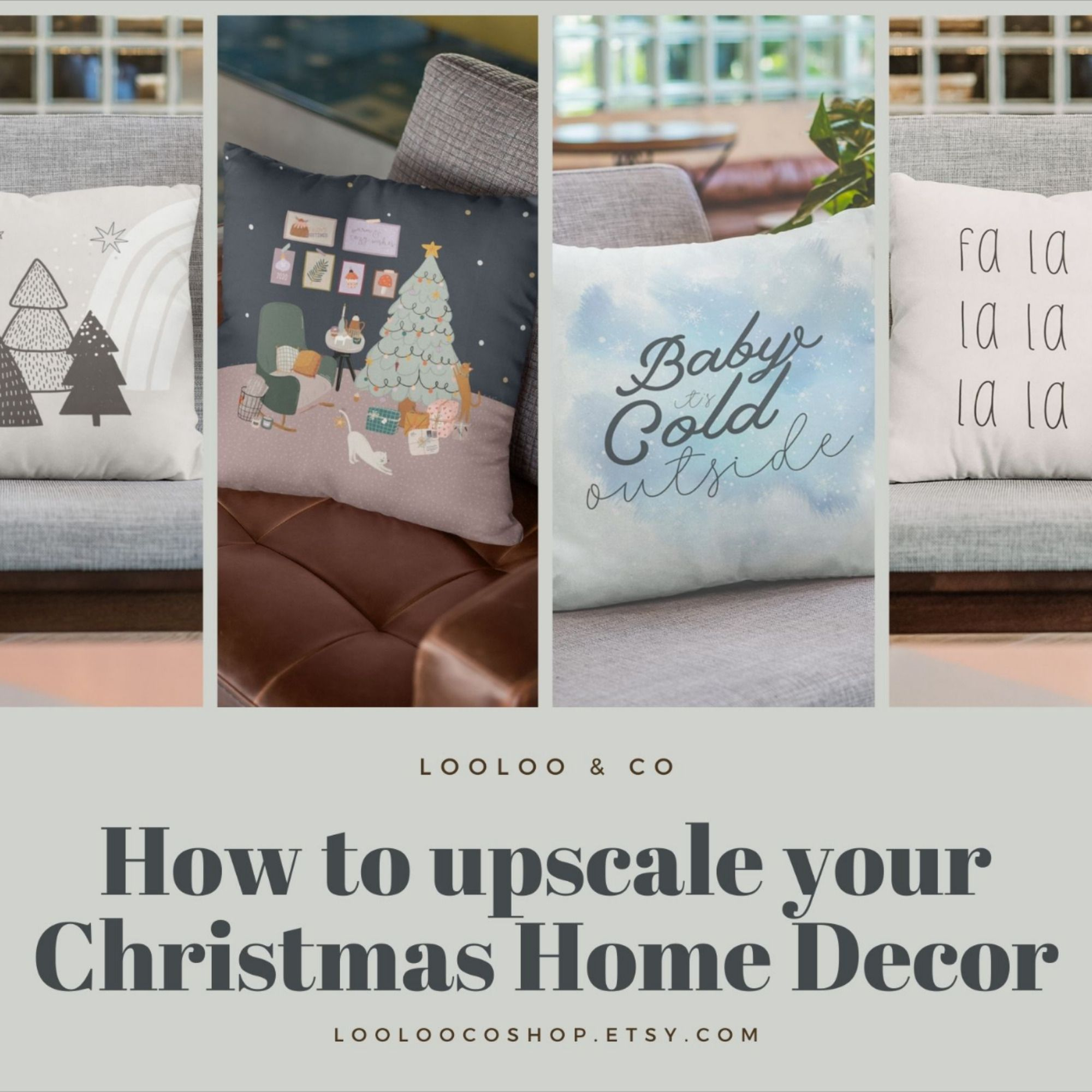 Click the link to find how you can upscale or change your Christmas Home Decor! Get into that Christmas Holiday Mood #christmas2020 #christmasiscoming