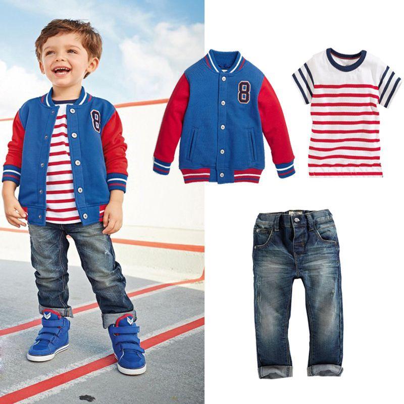 Boys-Clothing-Sport-Suit-font-b-Kids-b-font-Tracksuit-Children ...
