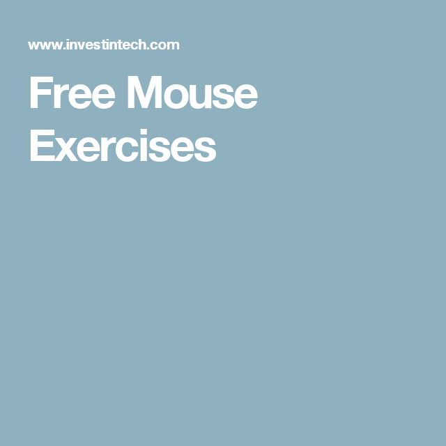 Free Mouse Exercises