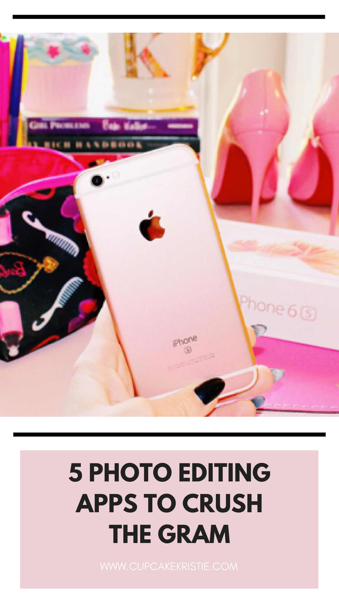 HOW TO TAKE YOUR OWN PICS + EDIT THEM ON IPHONE Apps