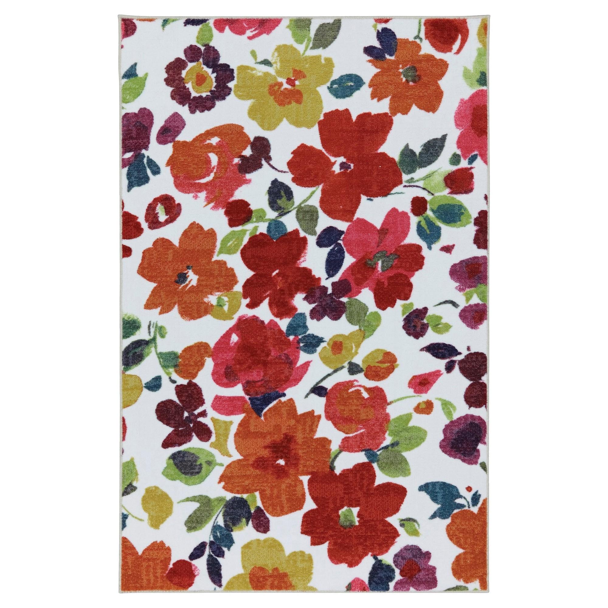 Mohawk floral area rug uxu multicolored floral area rugs