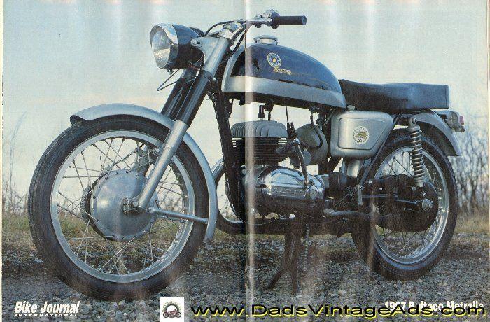 Vintage 1967 Bultaco Metralla