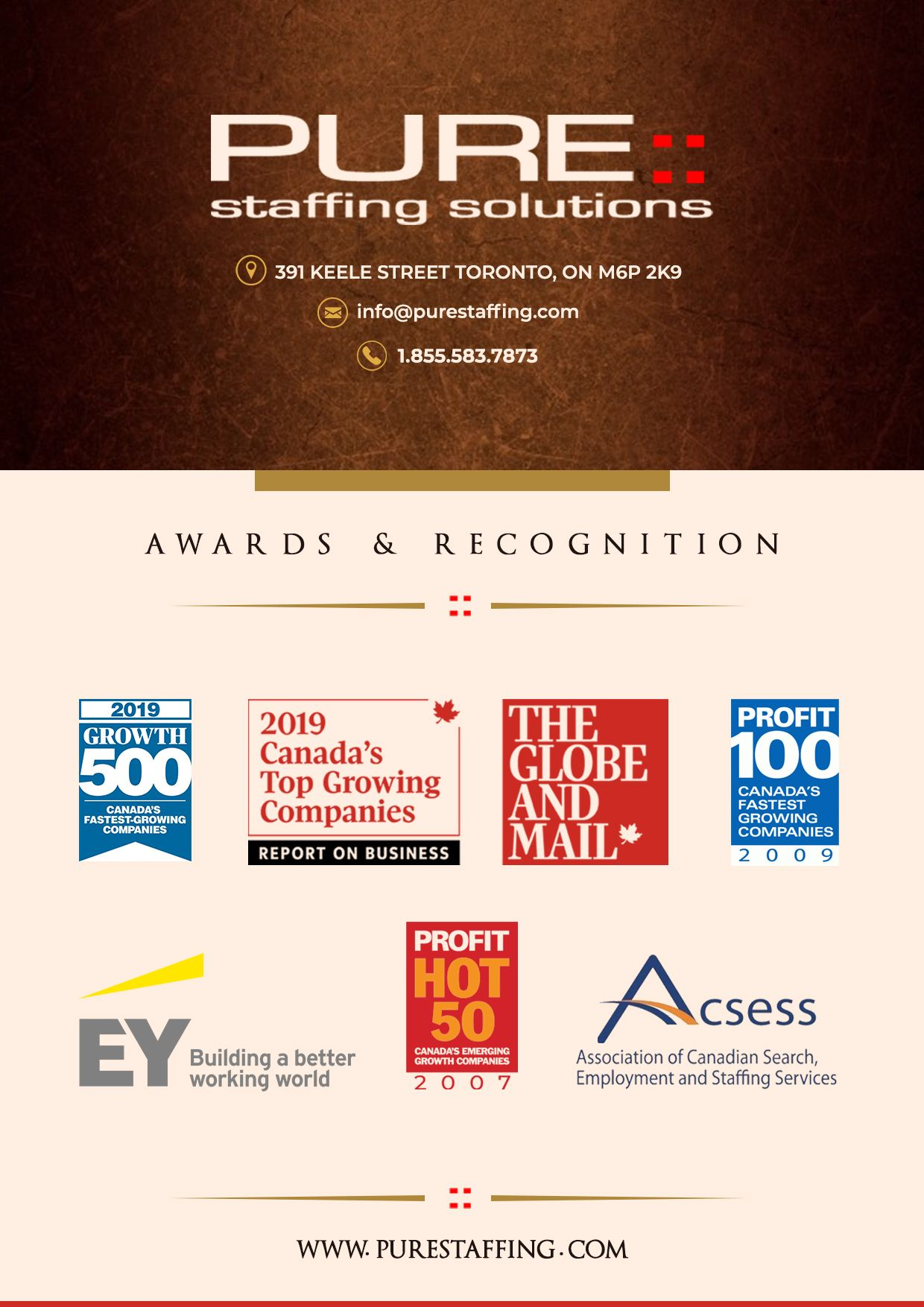 Purestaffing Solutions Employment agency, Solutions, Hr
