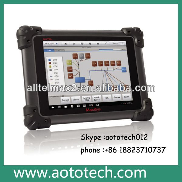 Super quality autel maxisys ms908 with capacitive touch screen autel