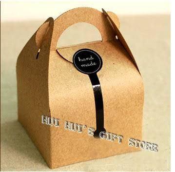 Znalezione Obrazy Dla Zapytania Treat Cake Paper Box With Handle Template Box Cake Kraft Packaging Cake Boxes Packaging
