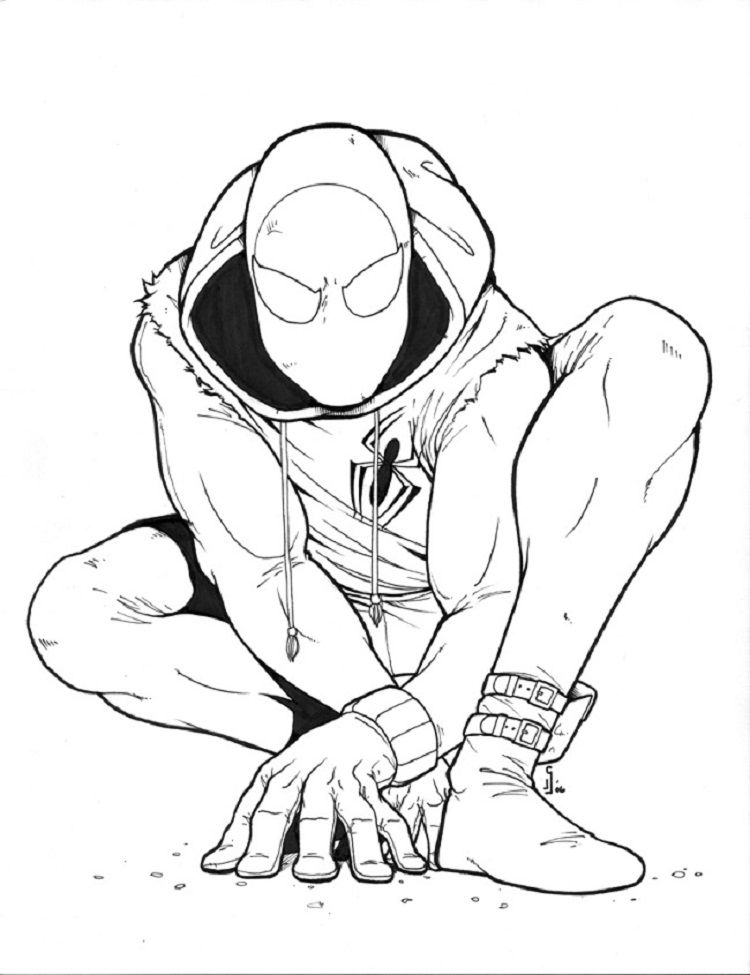 Spiderman Coloring Pages Homecoming Spiderman Coloring Spider