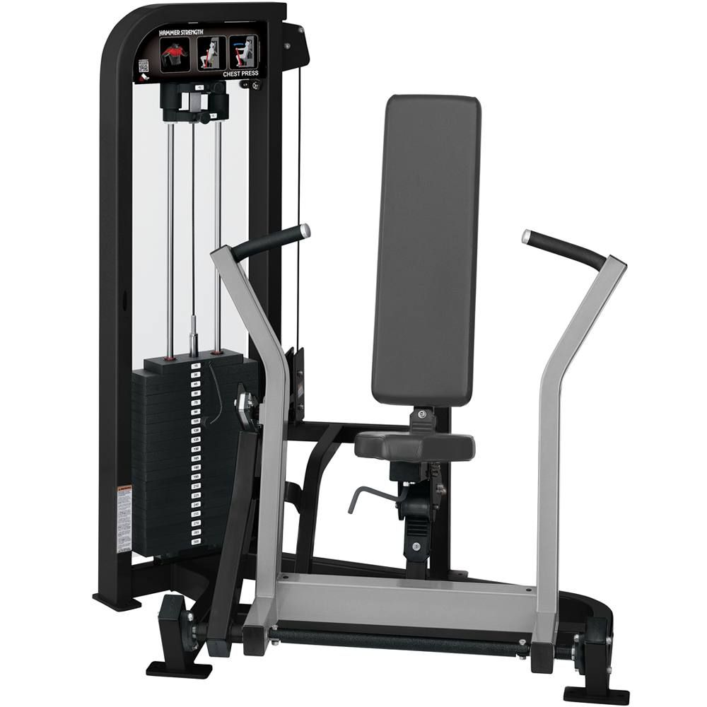Hammer Strength Select Chest Press Strength Training Equipment Fit Life No Equipment Workout Fitness