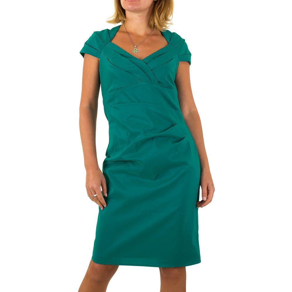 Details Zu Vera Mont Elegantes Damen Kleid 38 Hellgrun 3982 0 Dresses With Sleeves Casual Dress Dresses