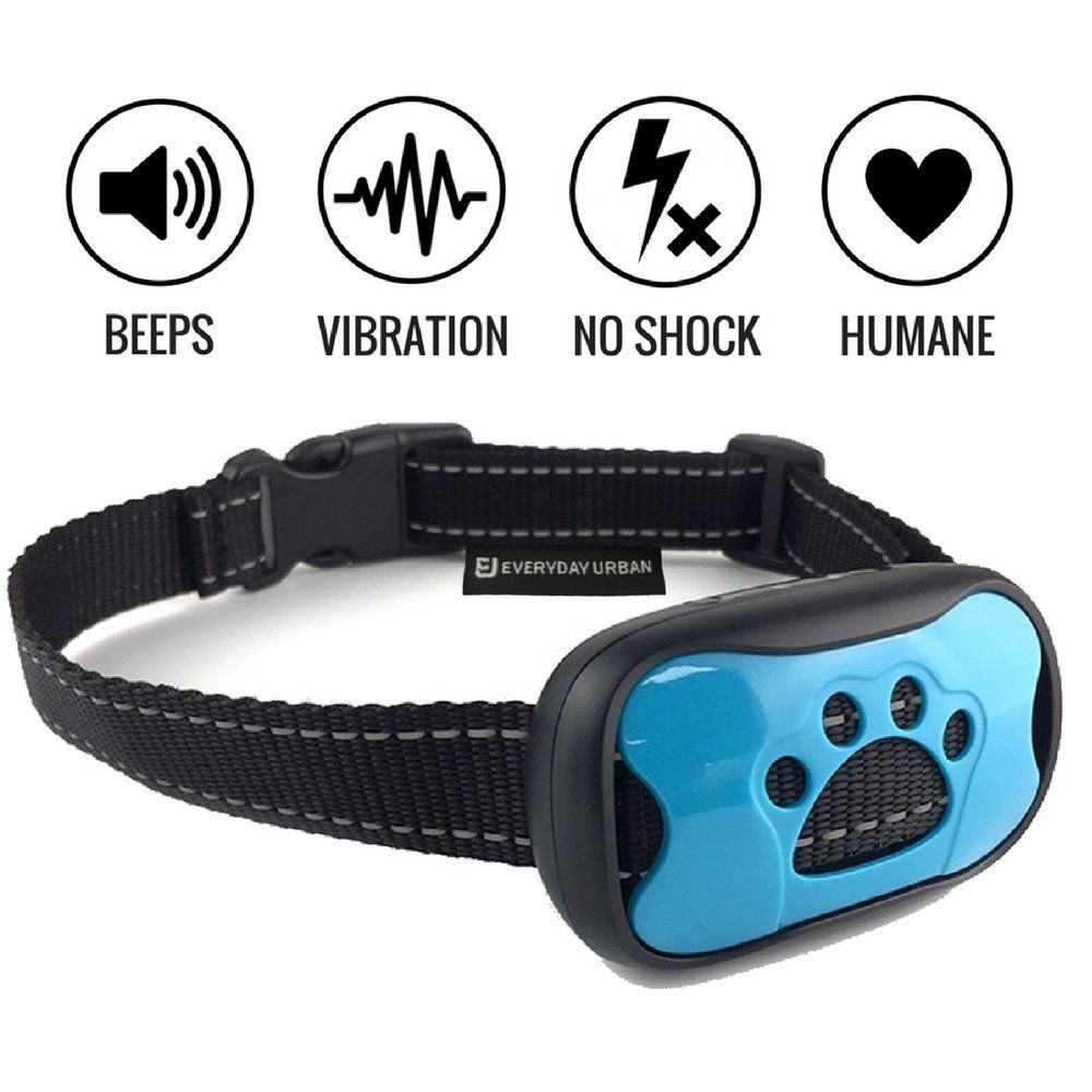 SAFE Bark Collar by EVERYDAY URBAN – Effective, Humane STOP