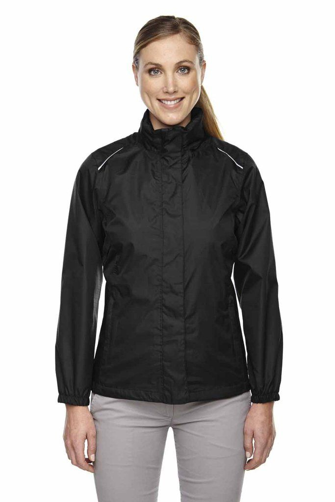76c4c78ceee Core 365 Womens Waterproof Full Zip Hooded Jacket 78185 | Core 365 ...