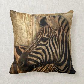 Kuba Cloth Pattern Square Pillow